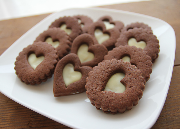 クッキー ホワイト チョコ